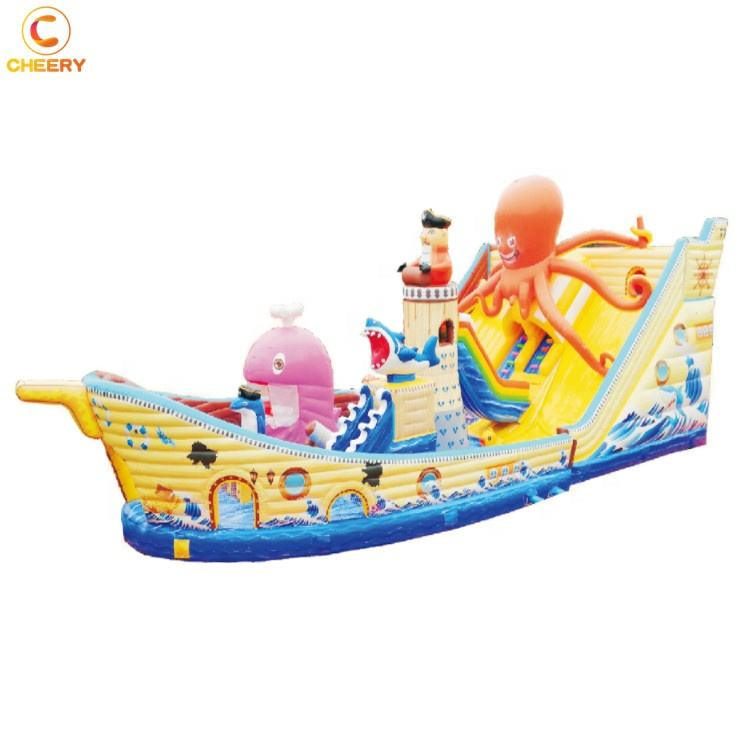 Commercial Spiderman inflatable castle slide bouncy castle inflatable jumping castle