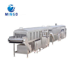 automatic continuous cans tunnel pasteurizer
