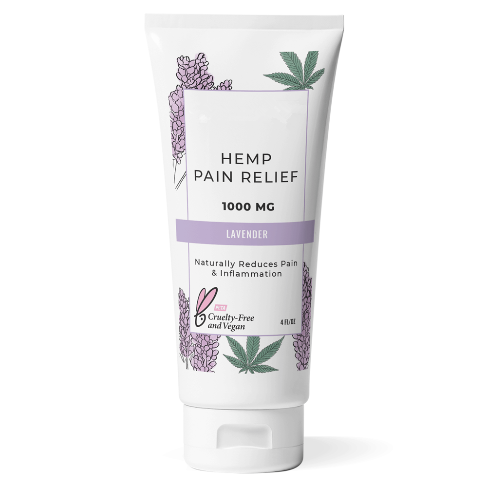 Private Label Vegan Lavendel Geur Hennep Pijn Crème