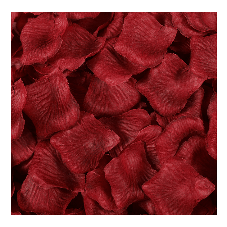 Valentine's Day For Wedding Decoration Soft Artificial Flower Petals Artificial Flower Rose Petal