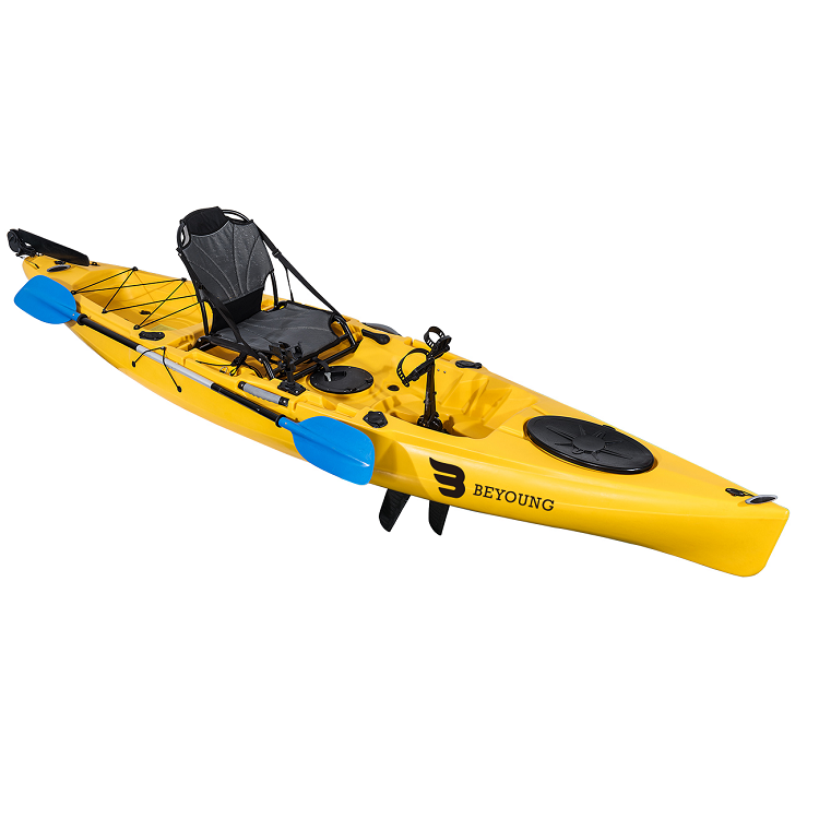China Sit on Top Paddle Fishing Kayak Sale High Quality Sit Top Canoe Kayak Fishing Ocean Kayak For Wholesale