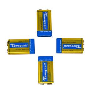 De alta calidad 9V de alta calidad 9V 6LR61 alcalinas batería de celda seca con precio bajo