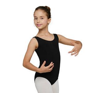 2021Child Black Sleeveless Ballet Dance Leotard Girls Ballet Kids Leotard Girls Leotard
