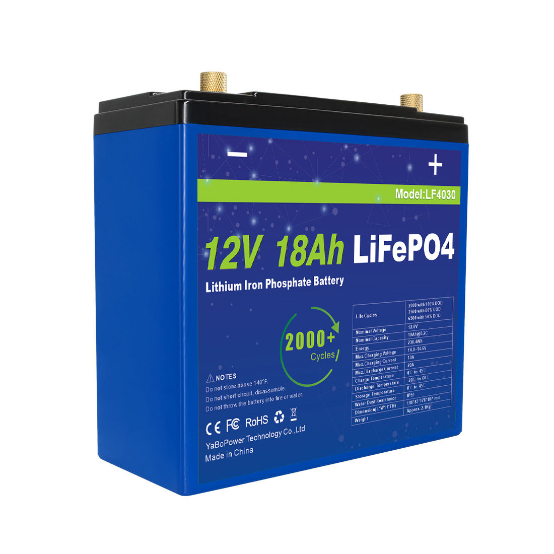 Sell Rechargeable Deep Lithium Ion Battery 12v 20ah 25ah Lifepo4