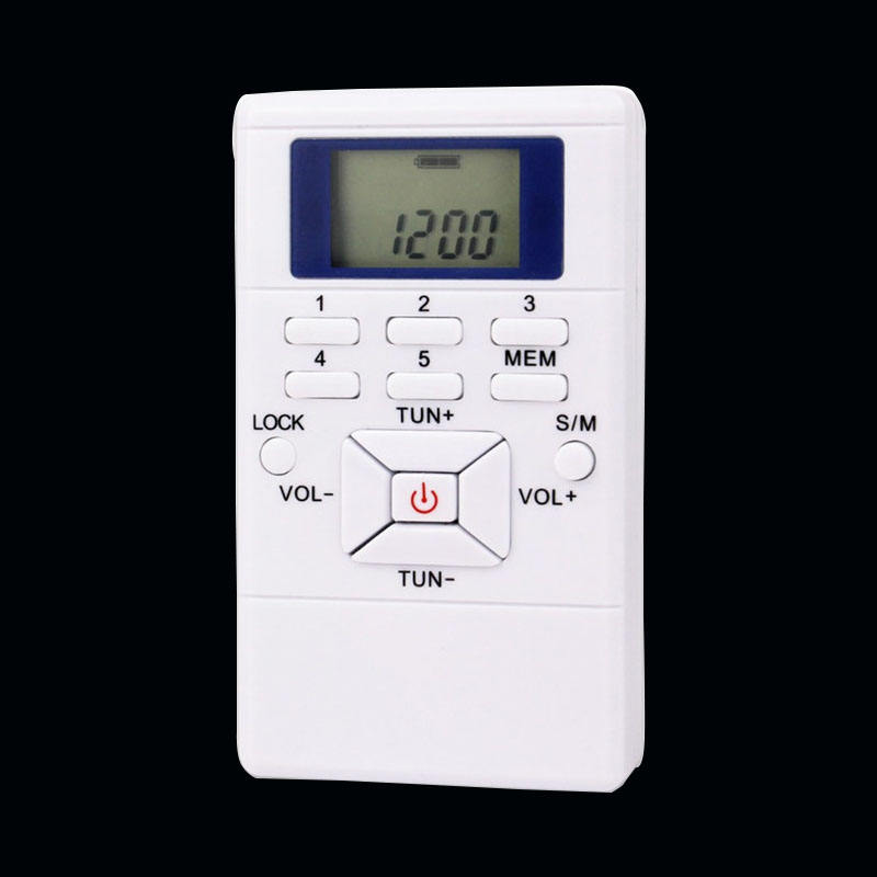 Translation Conference Receiver 60-108MHz Mini FM Digital Broadcast Portable Pocket Radio