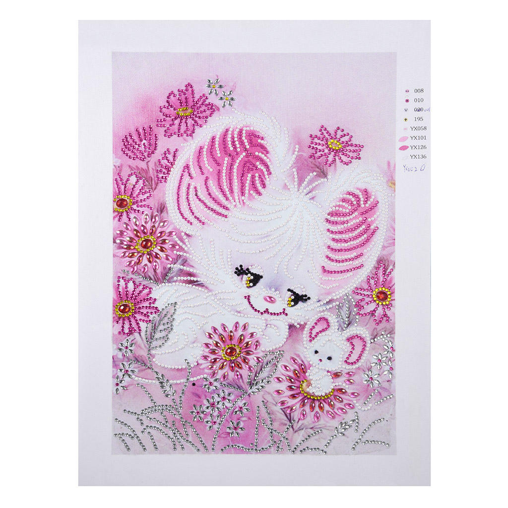 Top Rank Diamond Painting Diamond art painting Cute Rabbit pink DZ055