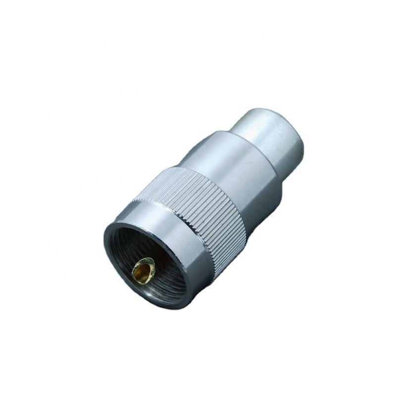 RF Coaxial UHF PL259 Male Solder Twist On Type Connector for RG213 RG8 Cable