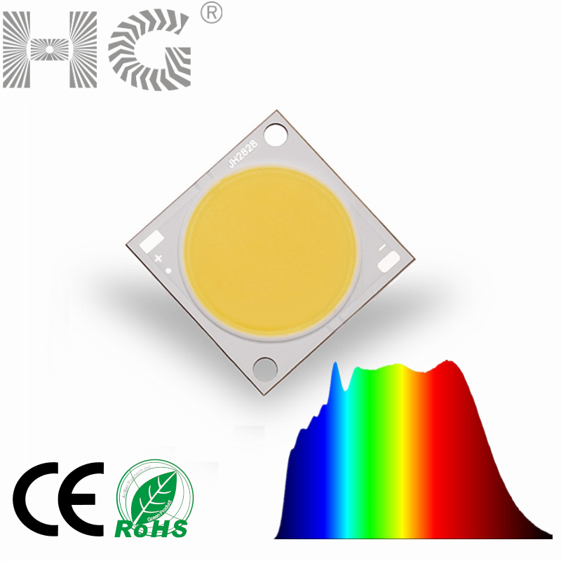 Hot koop high power Solar spectrum 30 W 50 W LED Grow verlichting 5000 K Ra98 volledige spectrum led chip diode voor led plant groeien led lamp