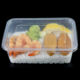 Microwaveable Rectangle Plastic Take Away Sealing Food Tray Box