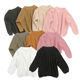 Girls Sweater Kids Sweaters Girl Girl Sweater Design In Stock Mommy And Me Wholesale Baby Girls Knit Sweater Plain Knitting Warm Kids Sweaters Girl