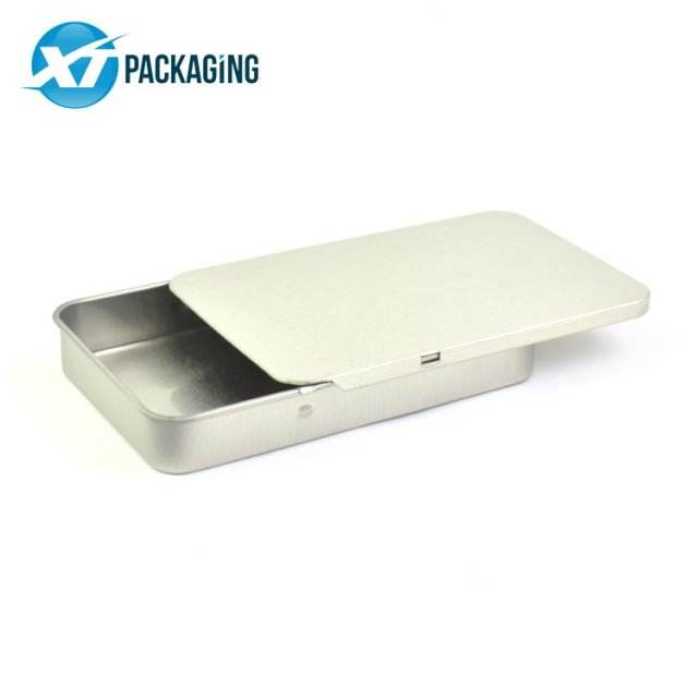 Custom child proof preroll tin case packaging boxes pre roll containers metal box cigar tiplate packaging