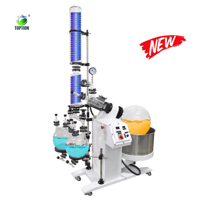 Stock Available Quality Warranty Industrial Rotary Evaporator 50L explosion-proof rotary evaporator