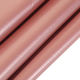 100%polyester 260T colorful film rose gold stamping foil pongee fabric used for dress jacket garment
