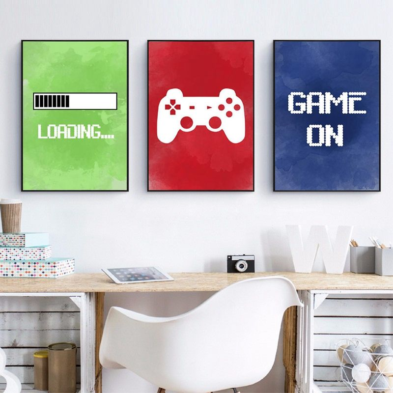 Video Game PS4 Wall Art Poster Game Room Decoratie Voor Kinderkamer Wanddecoratie Art Decor Canvas Schilderij