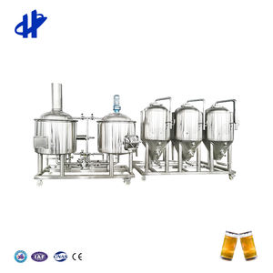 1000Lเบียร์Home Brewing System Micro Breweryอุปกรณ์