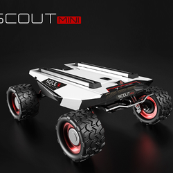 ORIGINAL MANUFACTURER SCOUT mini Four-Wheel Driver ROBOT PLATFORM CHASSIS Autonomous Drive Remote Intelligent Artificial Robot