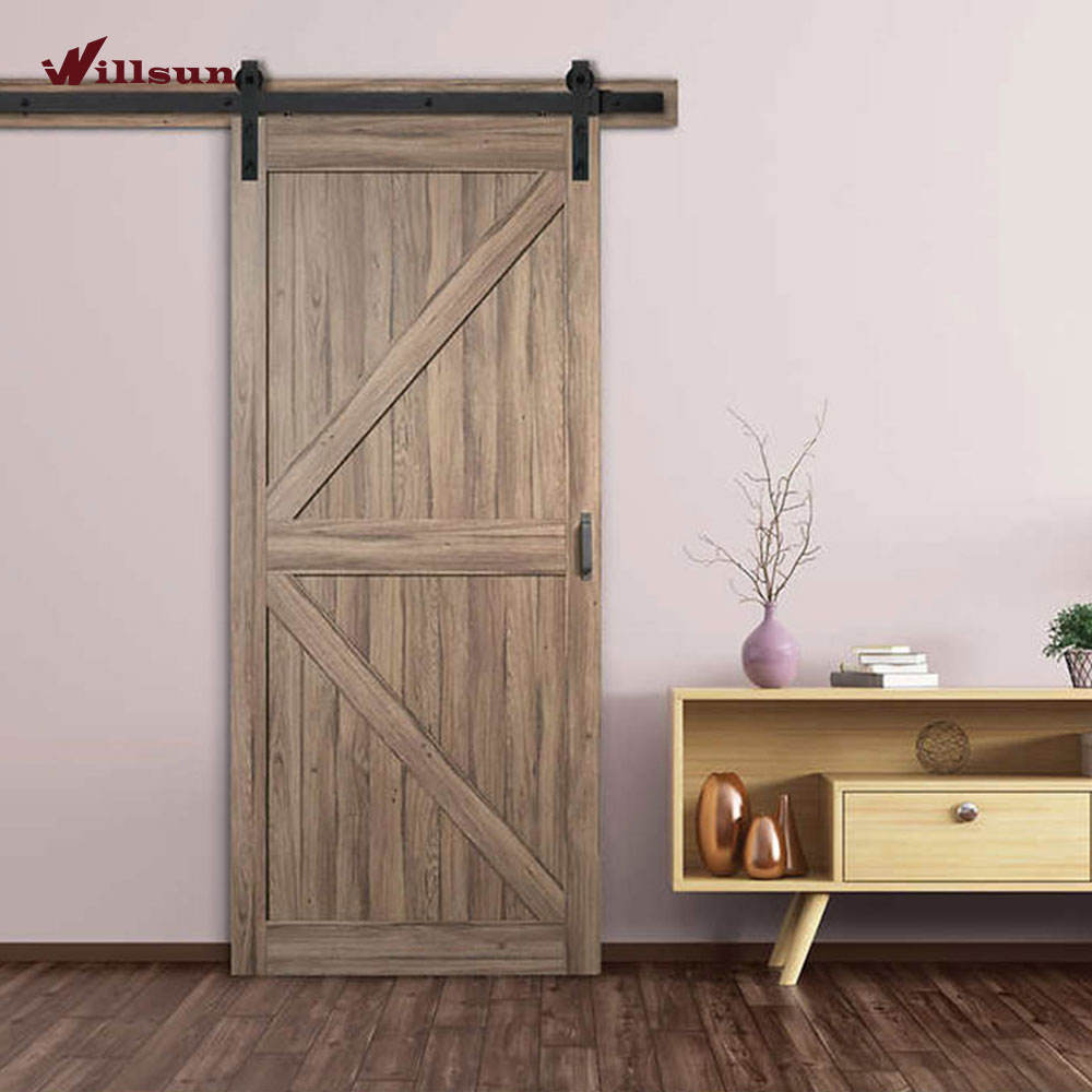 8 ft mdf soundproof interior sliding barn doors design wooden barn door barn mdf sliding door gate design