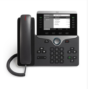 Cisco 8000 Series IP VoIP Telepon CP-8811-K9 Baru Asli Refresh 8811 Unified IP Jaringan Nirkabel Multi Charger Telepon