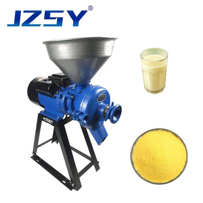 Wholesale price commercial automatic corn grain crusher/electric dry and wet grinding machine/maize animal poultry feed mill