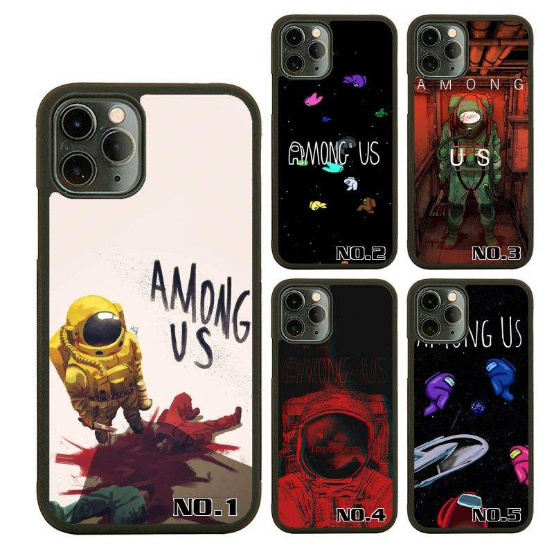 Hot Games Among us silicone TPU+PC phone case for iphone12 12Pro 12Mini 12Pro Max Case