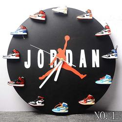 Wholesale 3D mini Shoes Sneaker clock and watch With Mini bo