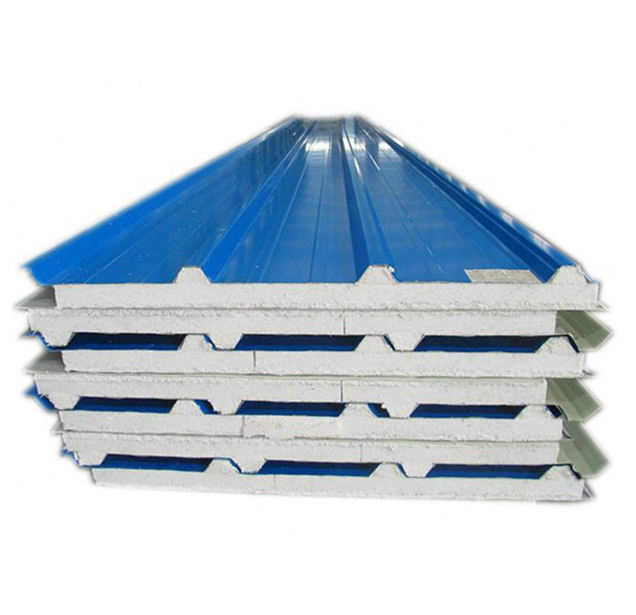 PU sandwich panels thermal insulation fireproof foam board removable wall panels