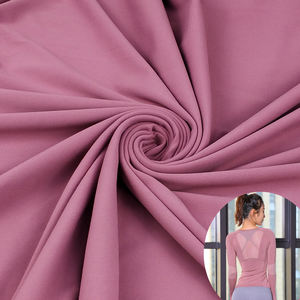 on sale double faced polyester brushed lycra fabric for tank tops and leggings