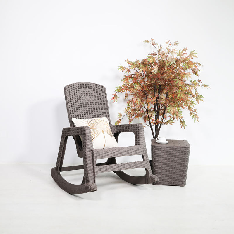 2020 Modern Stly Patio Outdoor Furniture Rocking Chair