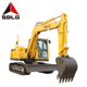 SDLG E680F 8 ton Chinese flexible operation low noise hydraulic caterpillar excavator