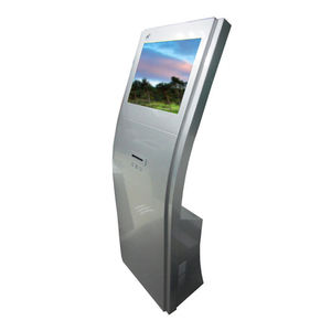 Customized self interactive e bank service kiosk with led display