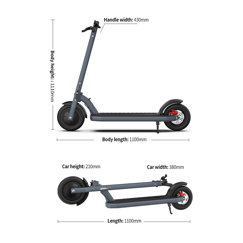 USA EU Warehouse Powerful Power Motor 2 Wheel E Scooter Car Adult Kids Mobility Kick Foldable Electric Scooter