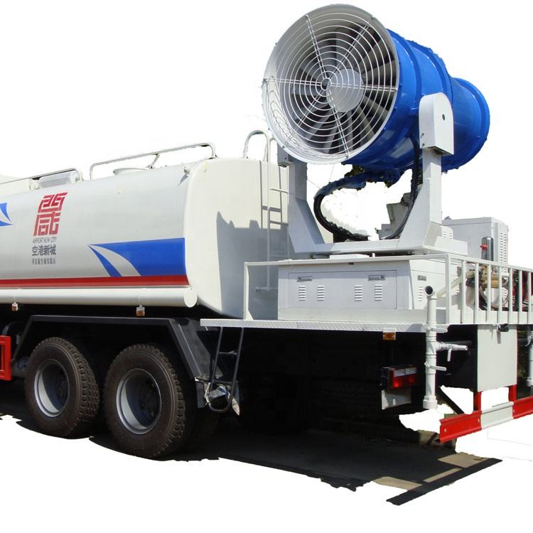 6x4 dongfeng 18000 liter PM2.5 control dust suppression truck with water fogging cannon