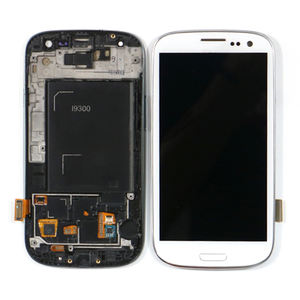 מקורי עבור Samsung Galaxy S3 I9300 LCD Digitizer מסך עבור samsung S3 מיני S21 S32 LCD