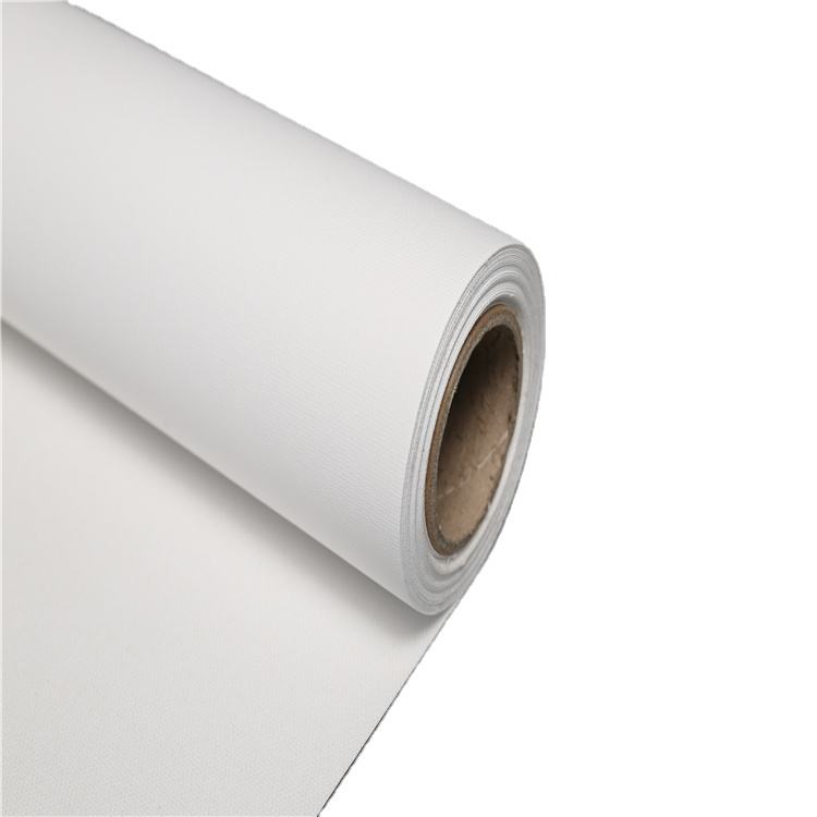 Good Quality artist fabric pure cotton glossy canvas roll for painting 300GSM