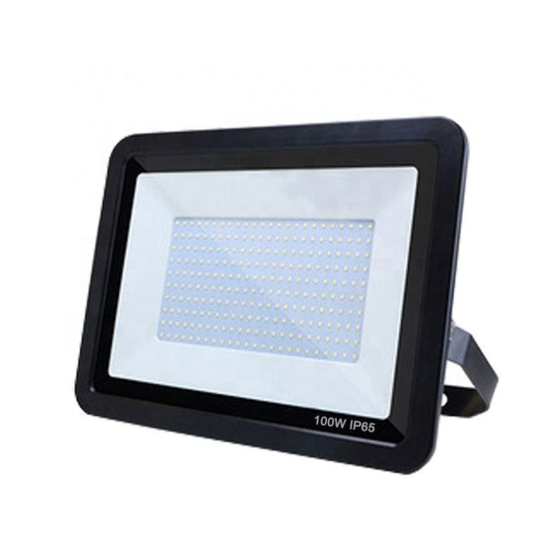 Hot sale slim ip65 110lm/w high brightness 50 100 150 200 watt led flood light asymmetrical