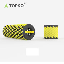 TOPKO new design collapsible  yoga exercise massage foam rol