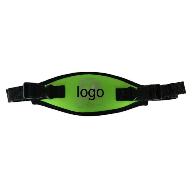 Factory Wholesale Customized Logo Printed Design Adjustable Buckle 2 35mm Neoprene Rubber Scuba Snorkel Diving Mask Cover Straps