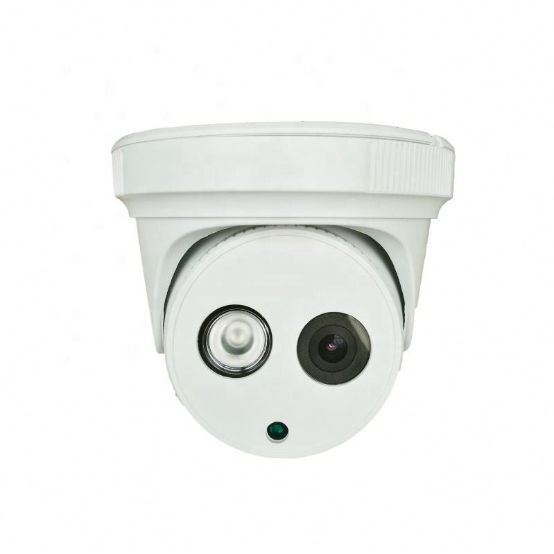 Cheap price plastic dome 4MP full hd IP camera support built-in POE
