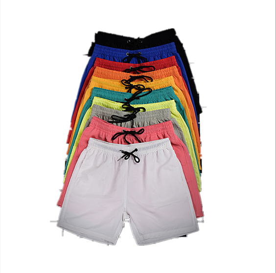 2020 10 colors summer mens surf board blank beach shorts mens boardshorts wholesale