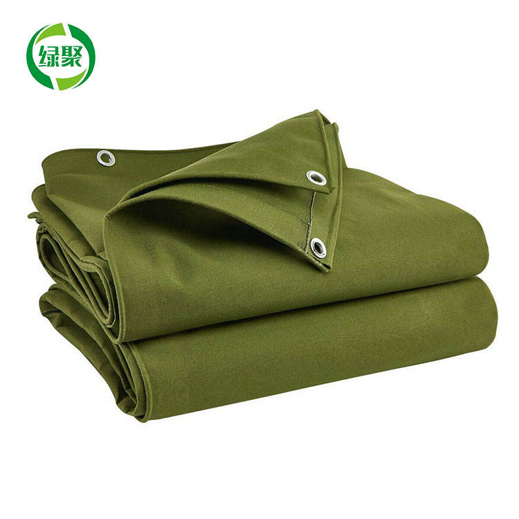 Ultra Strong Heavy Duty Polyester Canvas Tarps Military Canvas Tents Tarpaulin Fabric