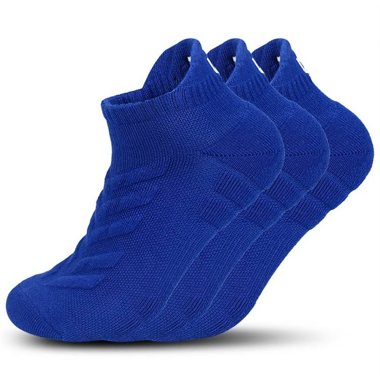 Kid Sport Brand Name Custom Man Blue Cheap Sock