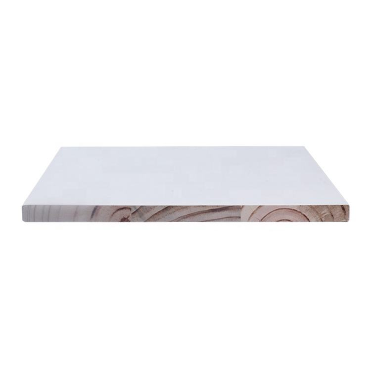 Mangrove white gesso primed finger joint radiata pine LVL wood trim wall board Mangrove