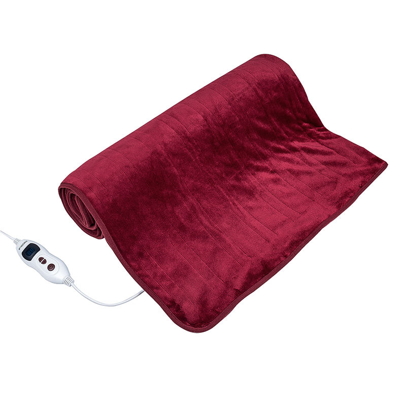 Wholesale China Electric Blanket Far infrared Custom Single Electric Heated Blanket