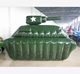 Tank inflatable paintball bunker for Tactical paintball field, Military Paintball Field Inflatable Air Tank Bunker