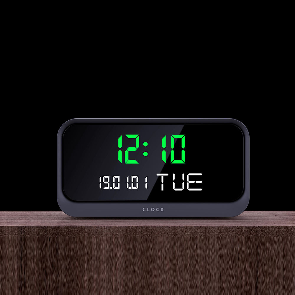 Howell 2020 New Wall Table Desk Clock Hidden Spy Camera Wireless Clock Camera Support 18650 Battery Powered Clock Hidden Camera