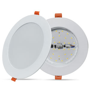 Anern slim round led panel 빛