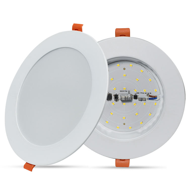Anern mince rond led panneau lumineux