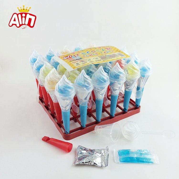 DIY Intellectual Interesting Whistle Four-color Ice Cream Power Candy