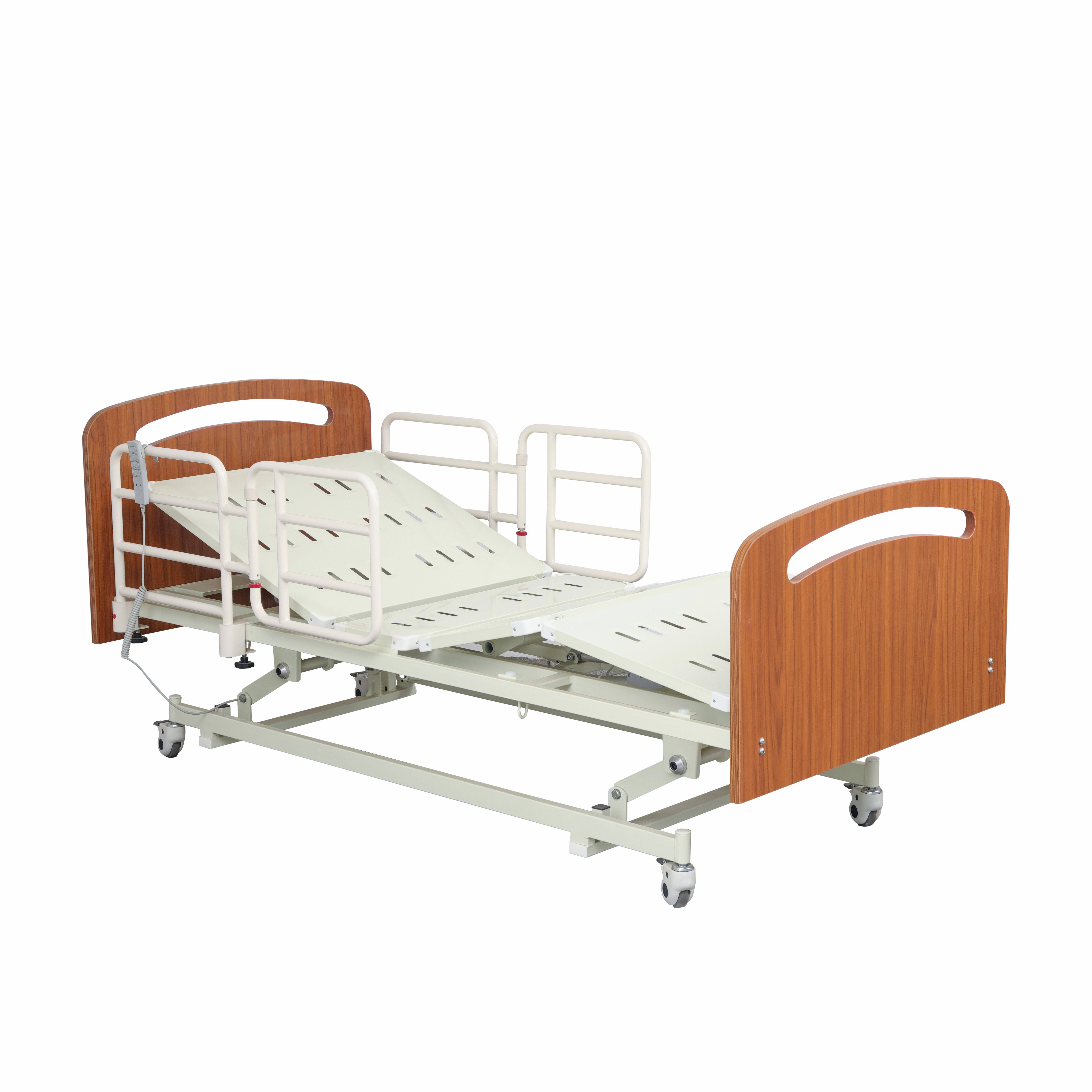wooden three-Funtion electric home care bed hospital bed
