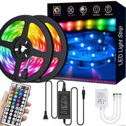 Hot selling home decoration waterproof led rgb string light